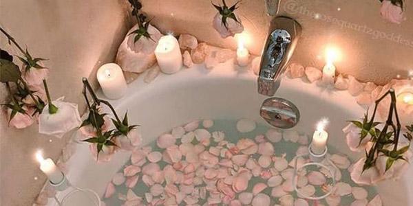 bain parfumé pour octobre rose