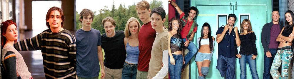 séries tv des années 90 et 2000, la vie au lycée