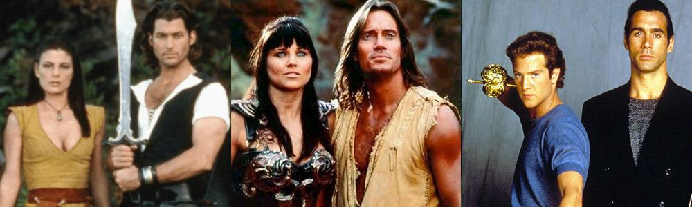 séries télévisées des années 90 avec des héros mythologiques