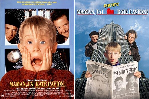Film 1 et 2 : Maman j'ai raté l'avion