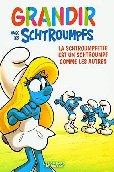 livre pour les petites filles et les petits garçons, apprendre la différence avec les schtroumpfs
